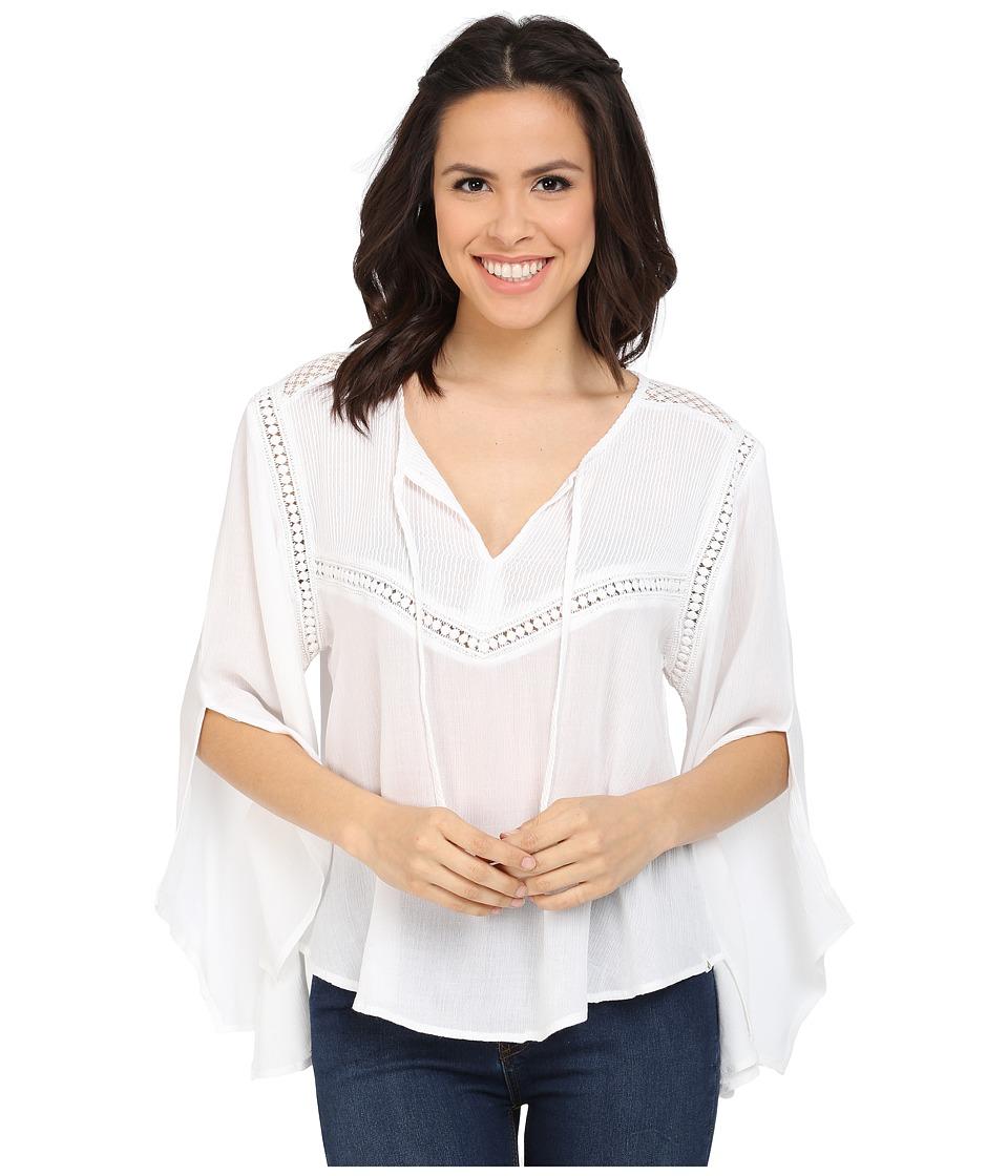Volcom - Peaceazy Top (White) Women's T Shirt