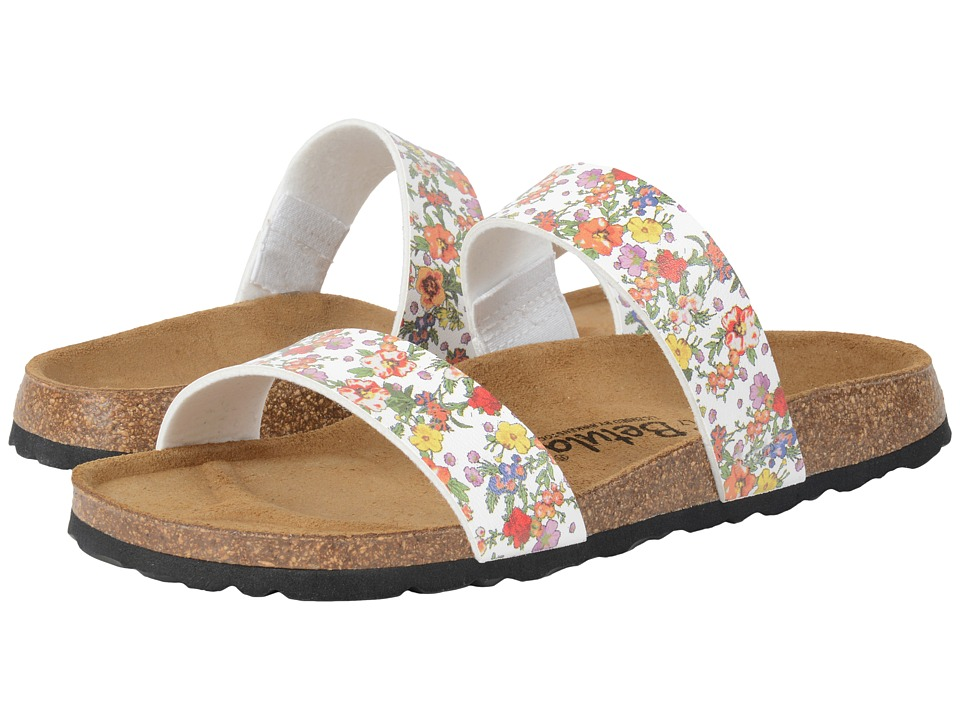 Betula Licensed by Birkenstock Quito Birko-Flor (White Flowers) Women