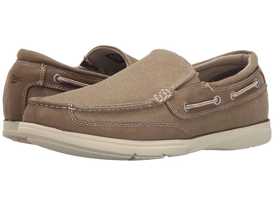 Dockers - Sycamore (Dark Taupe Washed Canvas/Nubuck) Men's Shoes