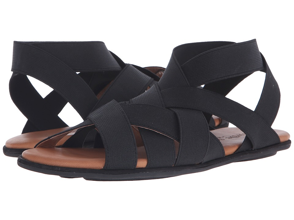 Gentle Souls - Bari (Black) Women's Sandals