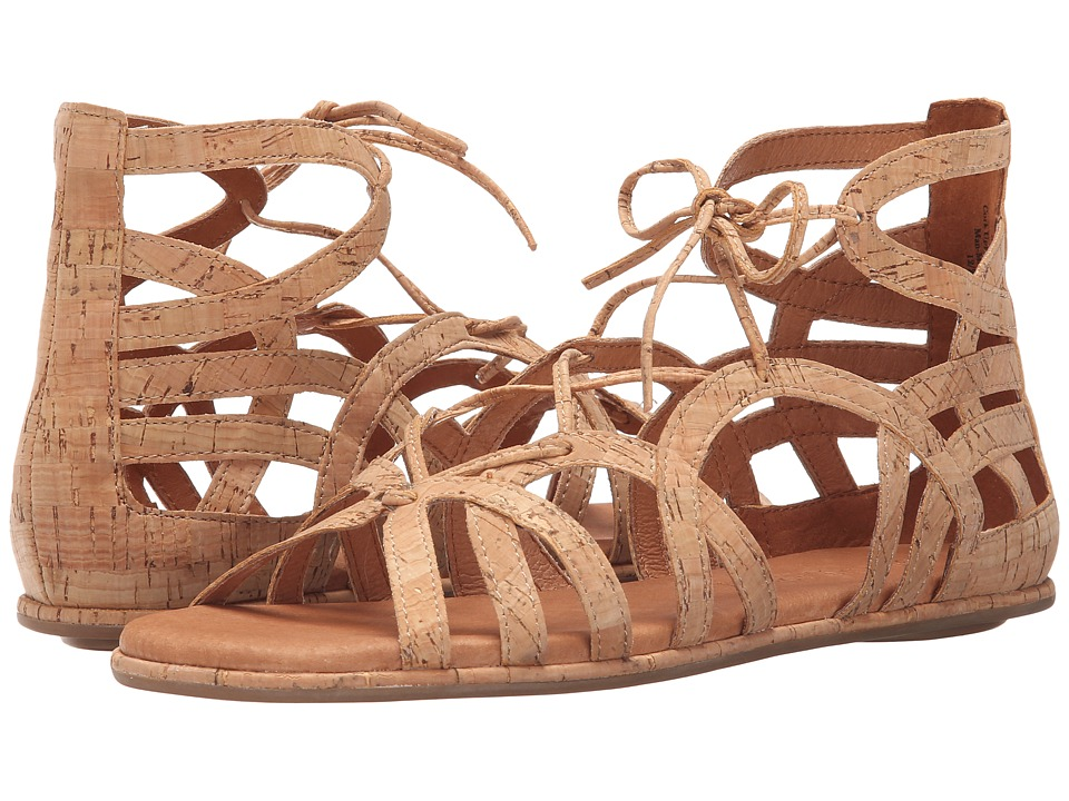 Gentle Souls - Break My Heart 3 (Cork) Women's Sandals
