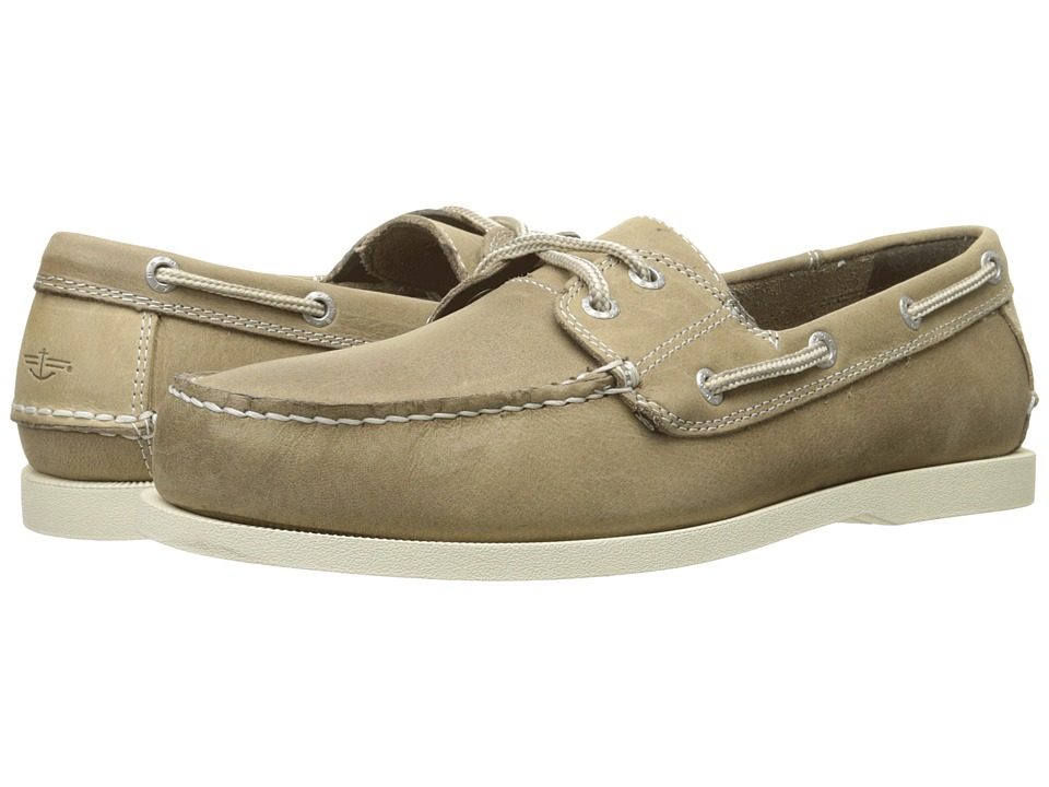 Dockers Vargas Boat Shoe (Grey Waxy Crazyhorse) Men