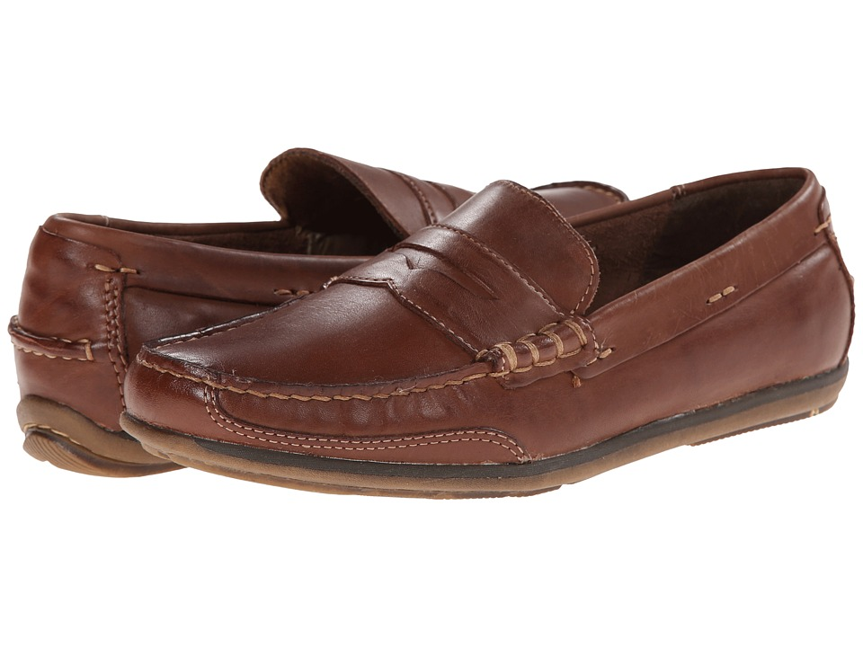 Dockers - Dalton (Tan Burnished Full Grain) Men's Slip-on Dress Shoes
