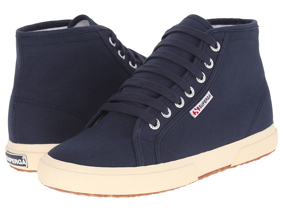 Superga - 2095 COTU (Navy/Off-White) Lace up casual Shoes