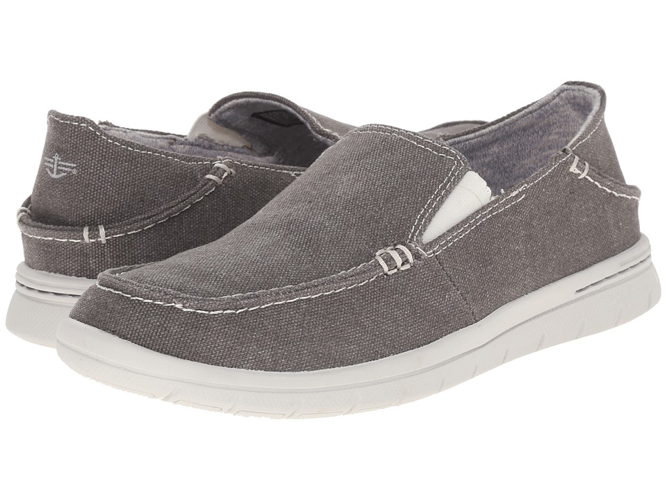Dockers - Ravello (Grey Washed Canvas) Men's Slip on Shoes