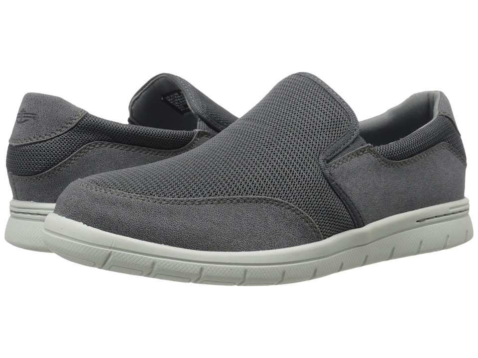 Dockers Antigua (Charcoal Mesh/Distressed) Men's Slip on Shoes