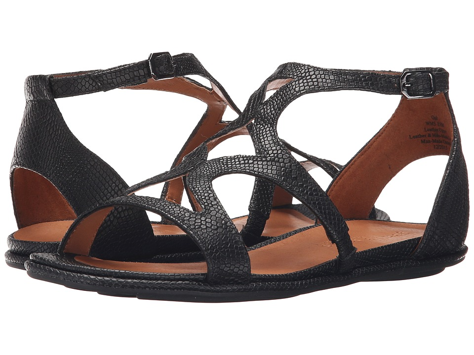 Gentle Souls - Oak (Black Snake) Women's Sandals