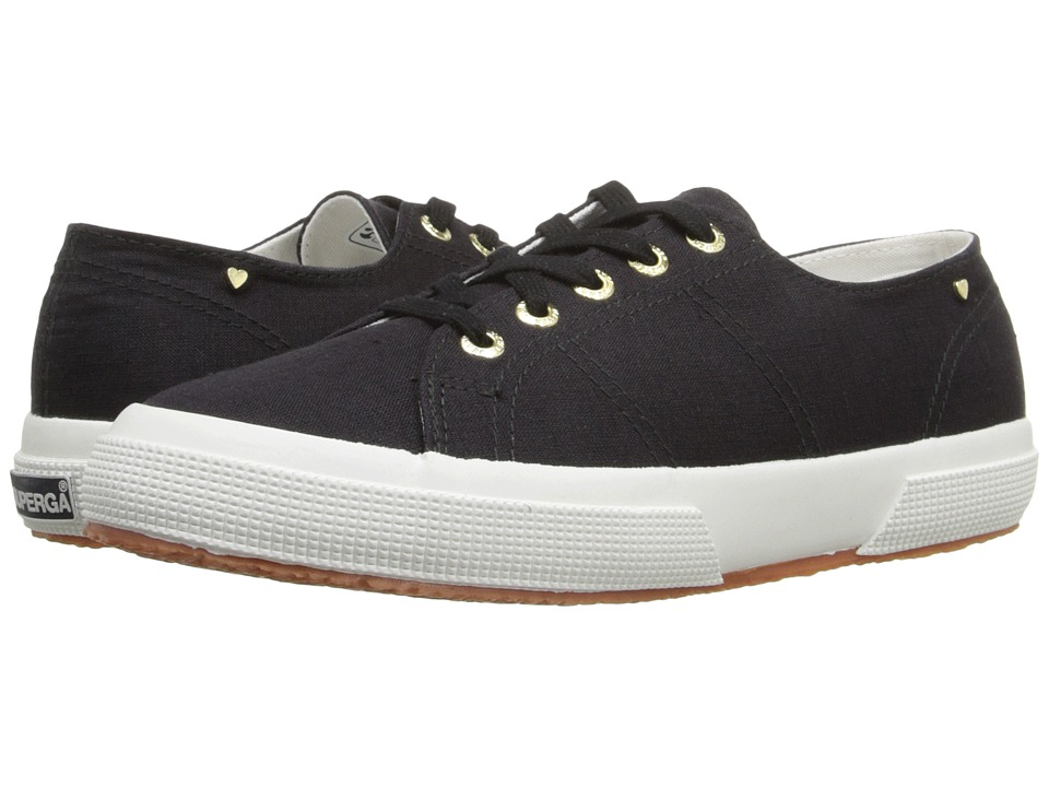 Superga - 2750 Linw By Jennifer Meyer (Black) Women