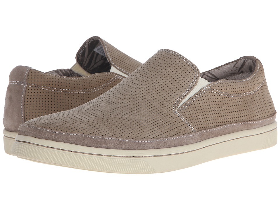 Dockers - Maldives (Light Taupe Perf Nubuck) Men's Slip on Shoes
