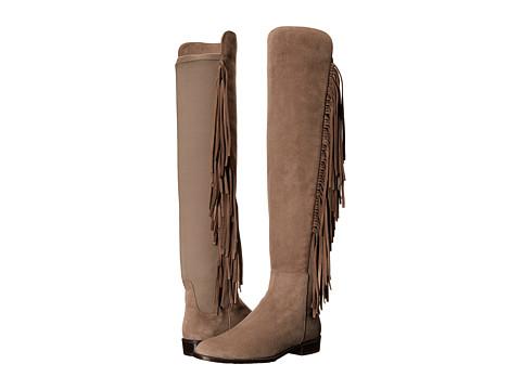 Stuart Weitzman - Mane (Topo Suede) Women's Pull-on Boots