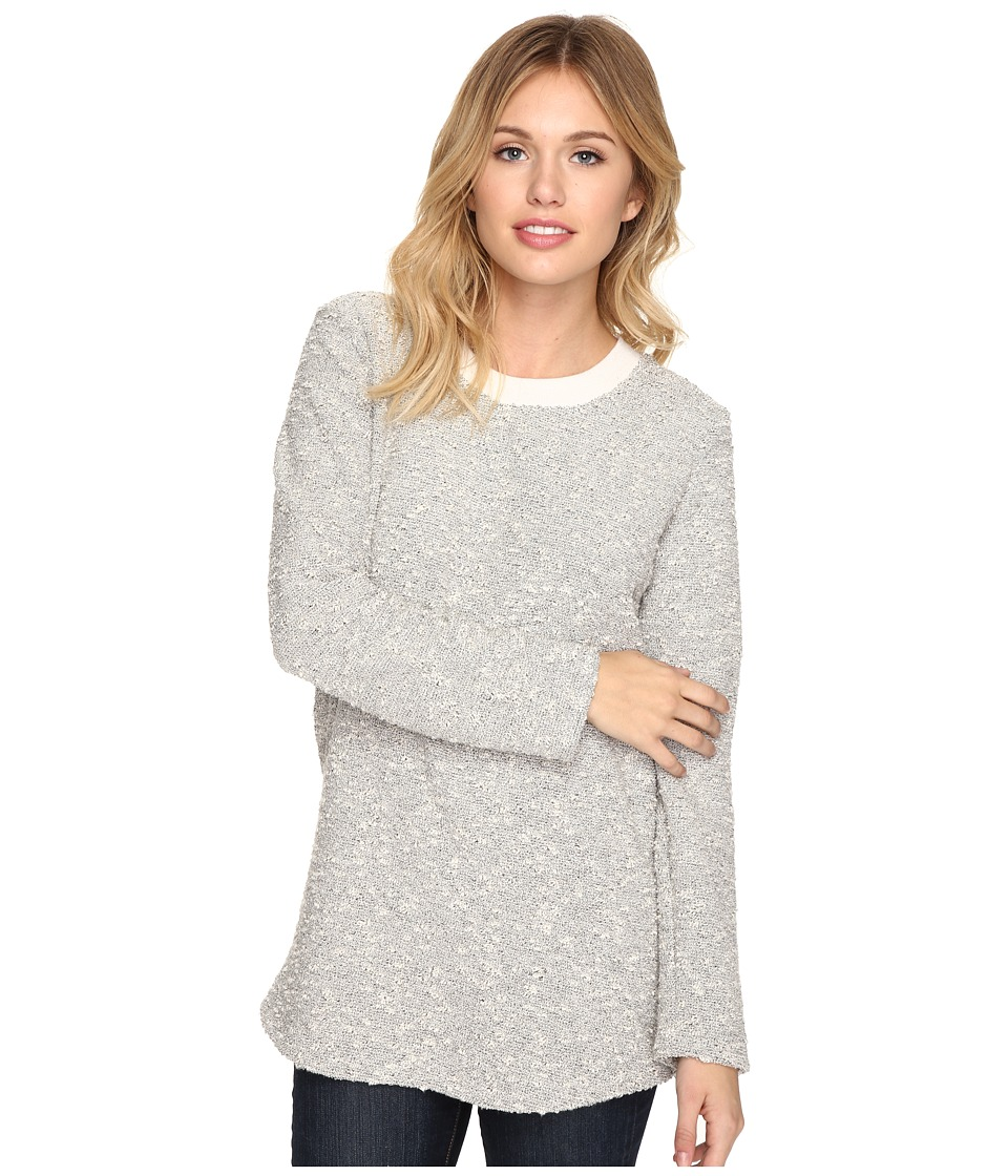 Alternative - Boucle Commuter Crew Neck (Pepper) Women's Sweater
