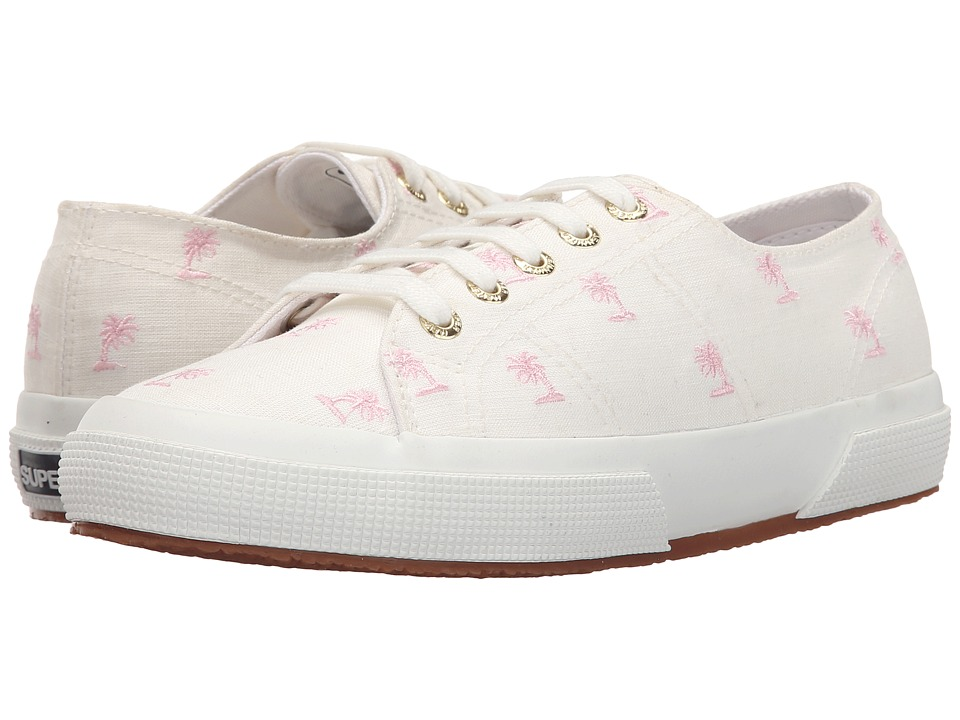 Superga - 2750 Linembrw By Jennifer Meyer (White/Pink) Women