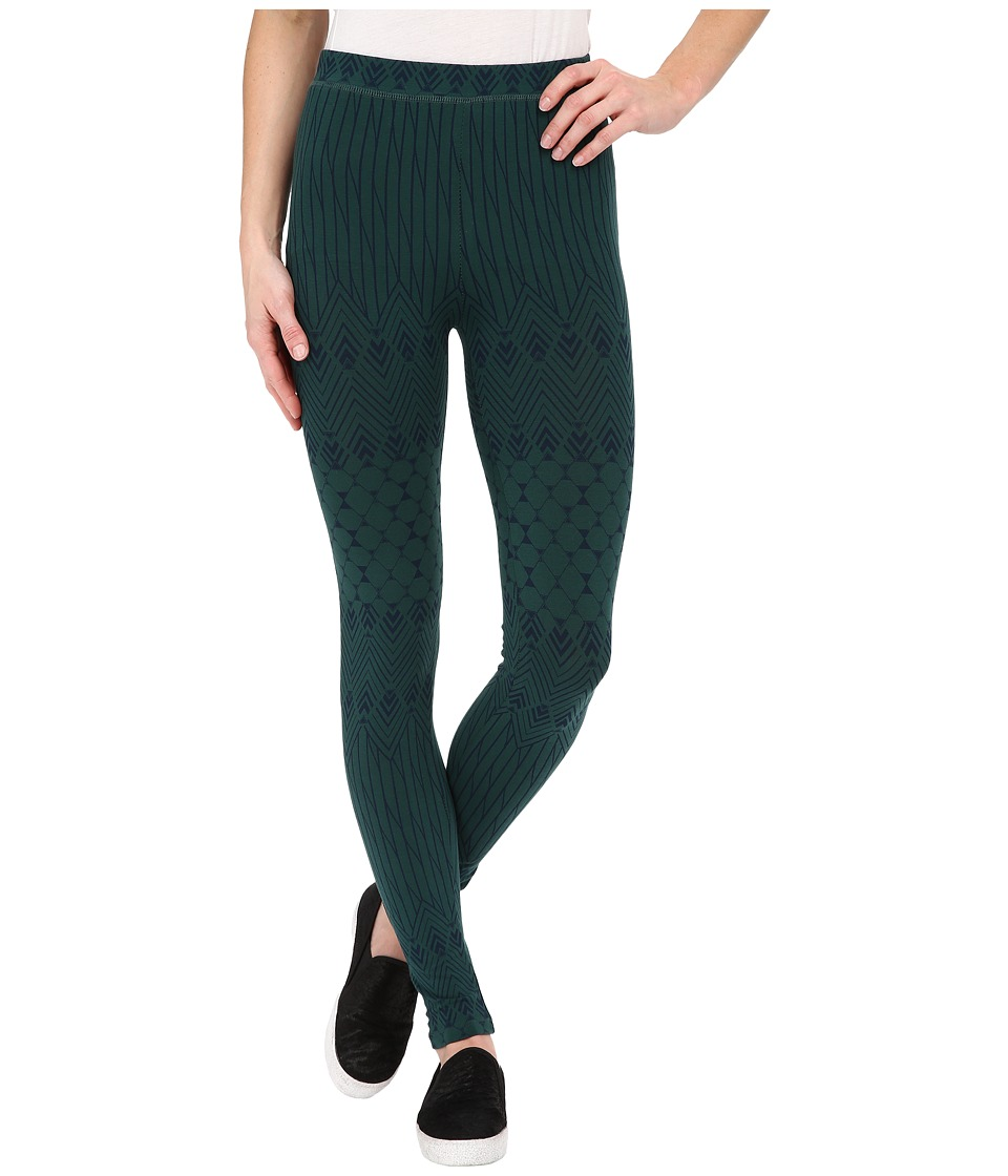 Alternative - Printed Skinny Legging (Forest Deco Fairisle) Women's Casual Pants