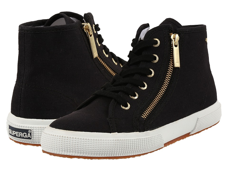 Superga - 2224 Linw By Jennifer Meyer (Black) Women's Lace up casual Shoes