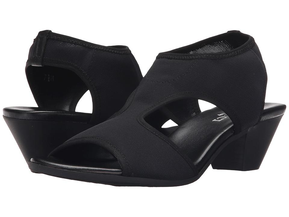 Sesto Meucci - Picnic (Black Nitry) Women's 1-2 inch heel Shoes