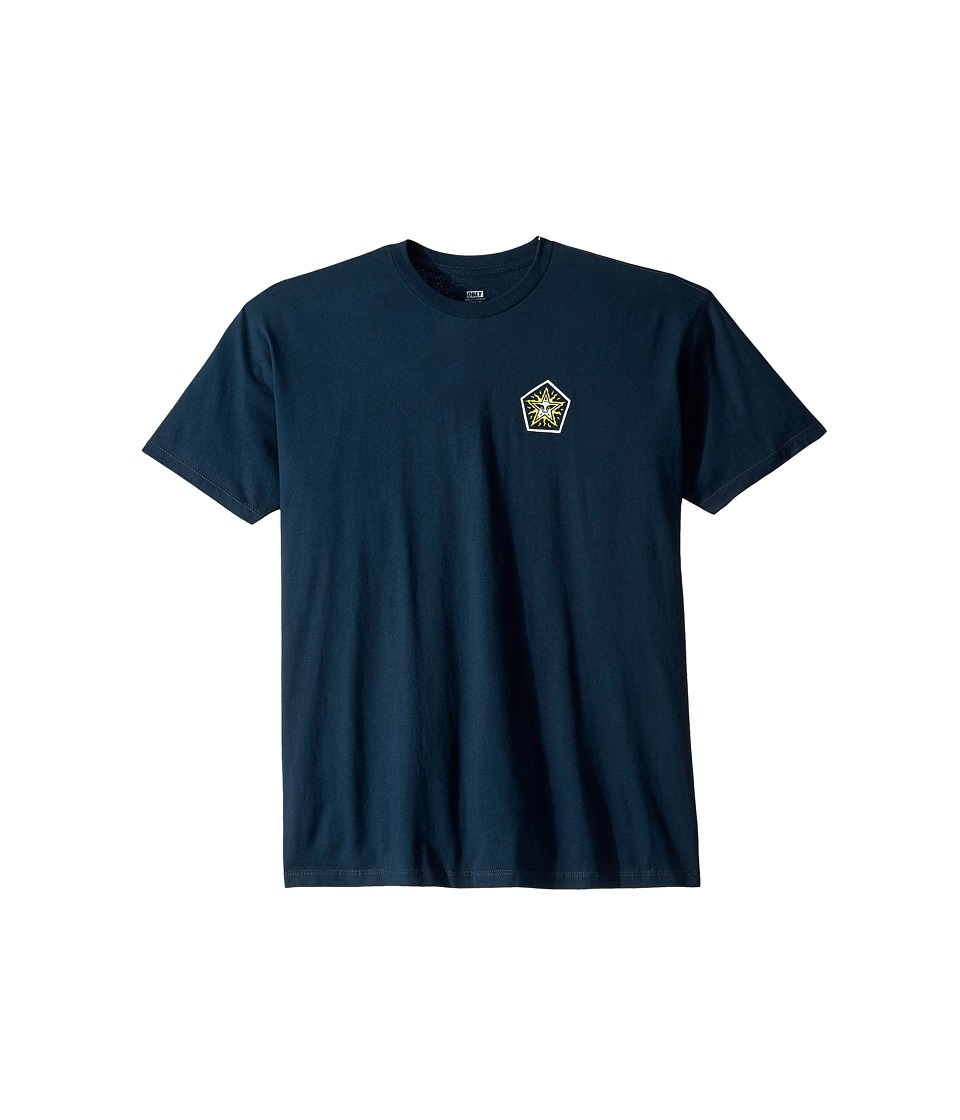 Obey - Premium Freak Eagle Tee (Navy) Men's T Shirt