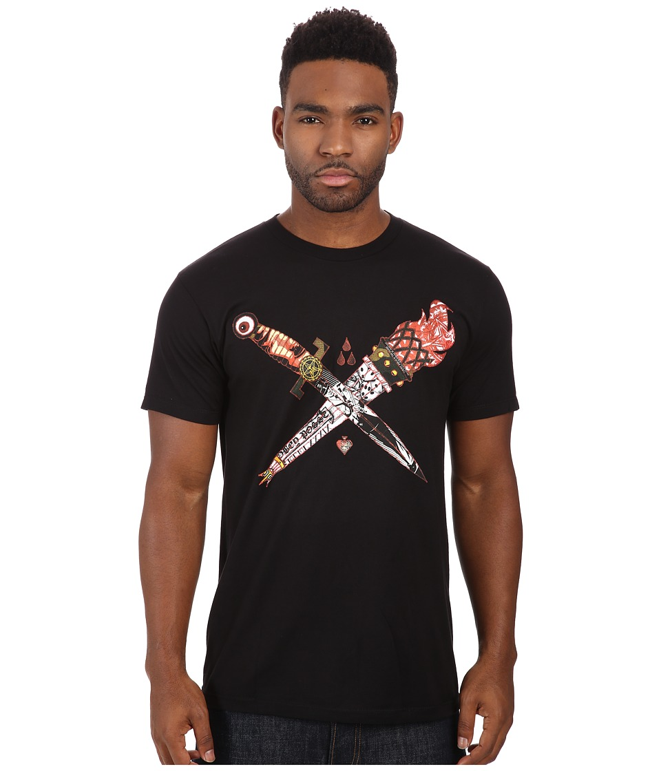 Obey - Premium Let It Burn Tee (Black) Men's T Shirt
