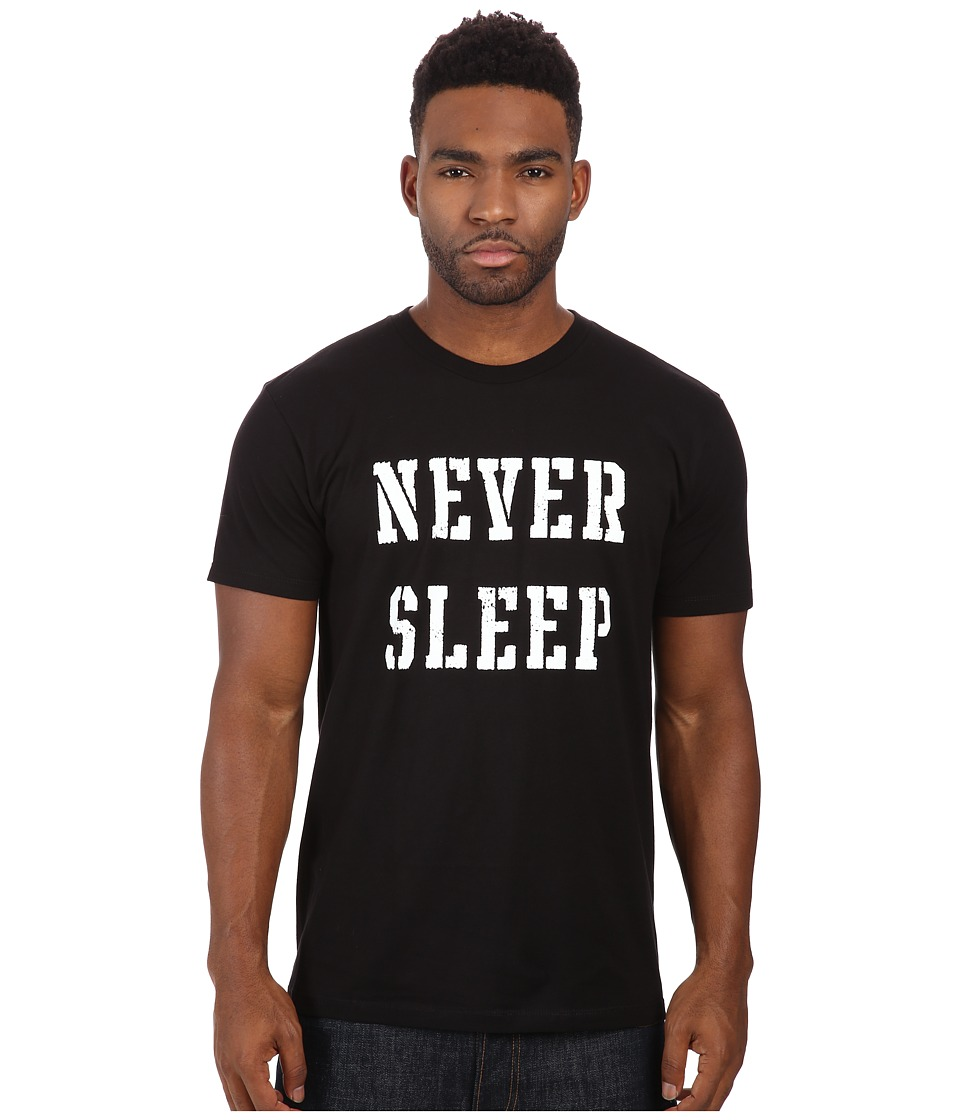 Obey - Premium Never Sleep Tee (Black) Men