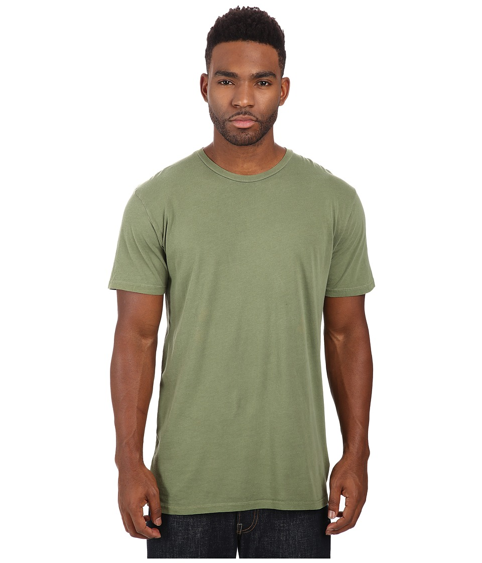 Obey - Lightweight Pigment Tee (Dark Olive) Men