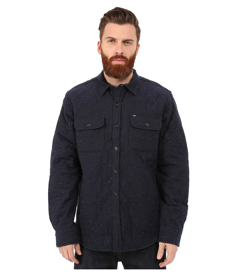 Obey - Lister Jacket (Heather Navy) Men's Coat