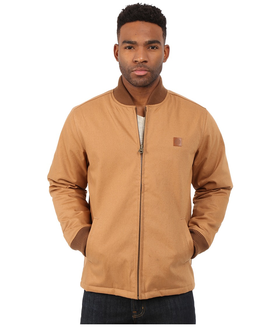 Obey - Badger Jacket (Light Brown) Men's Coat