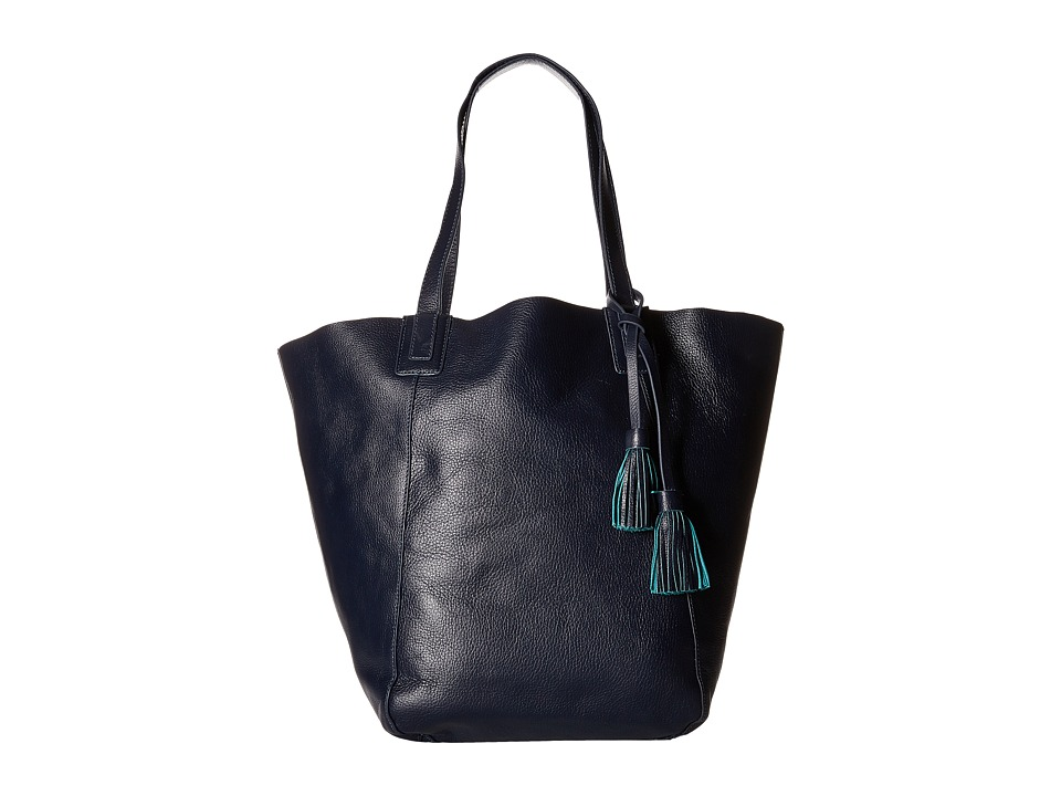 Lucky Brand - Reese Reversible Tote (Navy Teal) Tote Handbags
