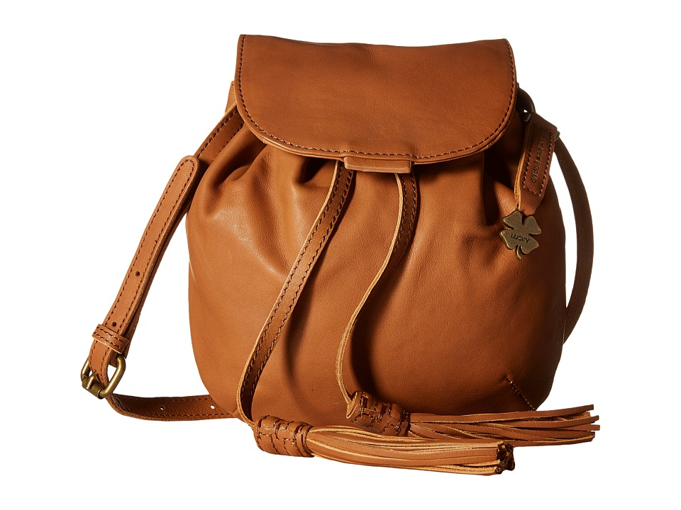 Lucky Brand - Jordan Mini Crossbody (Tobacco) Cross Body Handbags