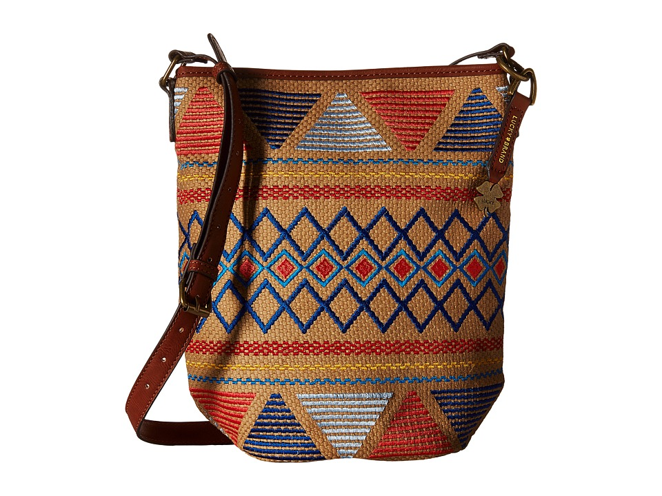 Lucky Brand - Cassis Bucket Crossbody (Multi) Cross Body Handbags