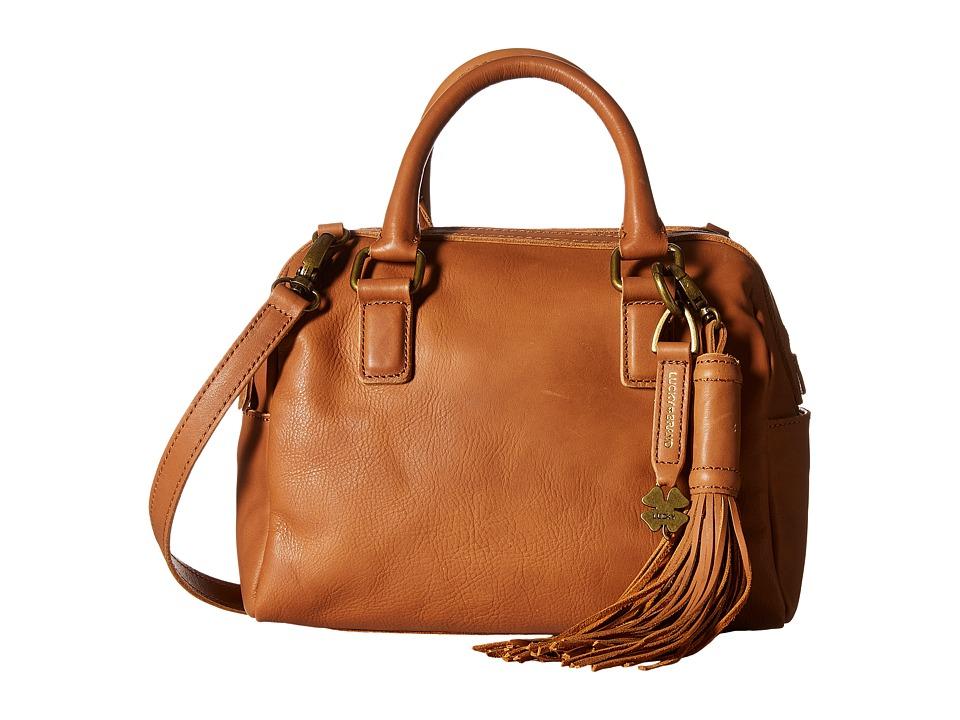 Lucky Brand - Jordan Mini Satchel Crossbody (Tobacco) Cross Body Handbags