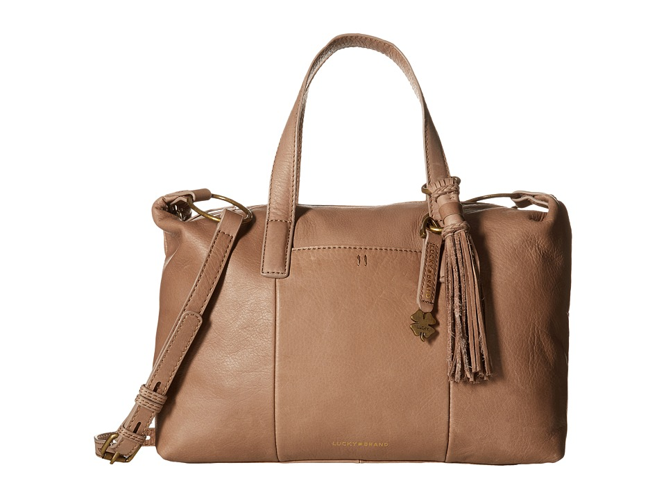 Lucky Brand - Athena Satchel Crossbody (Dust) Satchel Handbags