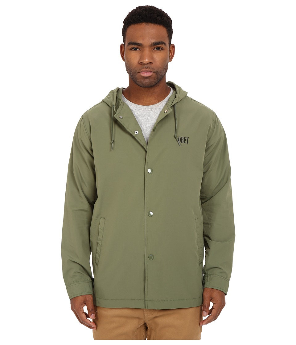 Obey - Transponder Jacket (Army) Men's Coat