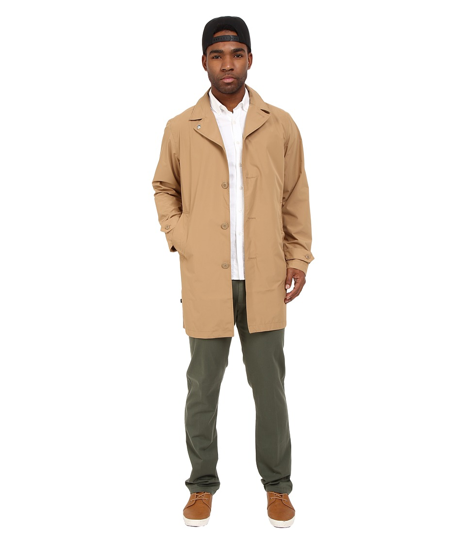 Obey - Manhattan Coat (Dark Khaki) Men's Coat