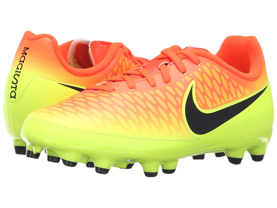 Nike Kids - Jr Magista Onda FG Soccer (Toddler/Little Kid/Big Kid) (Total Crimson/Volt/Bright Citrus/Black) Kids Shoes