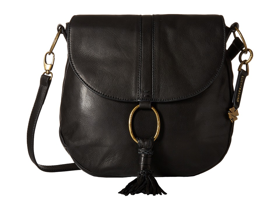 Lucky Brand - Athena Convertible Flap (Black) Convertible Handbags