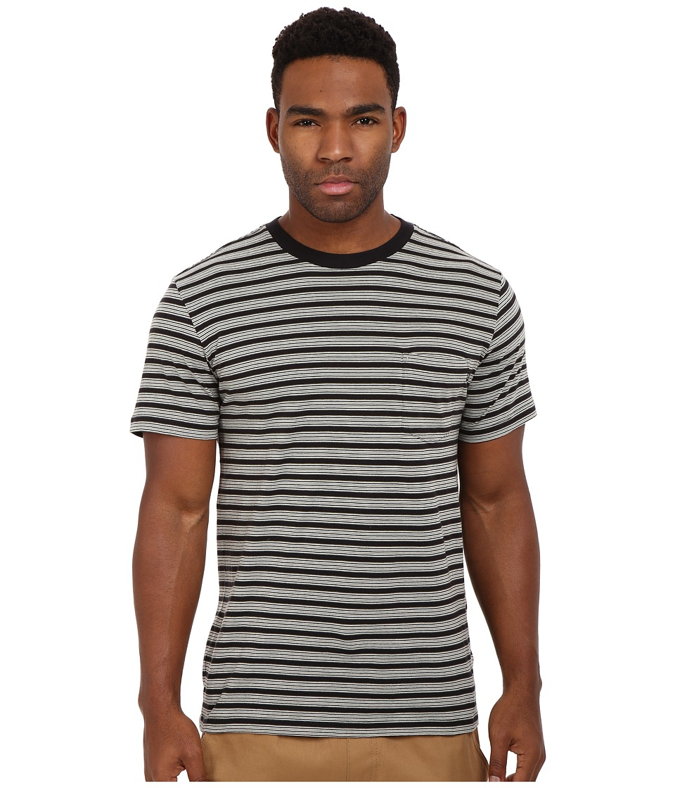 Obey County Pocket Tee (Black Multi) Men