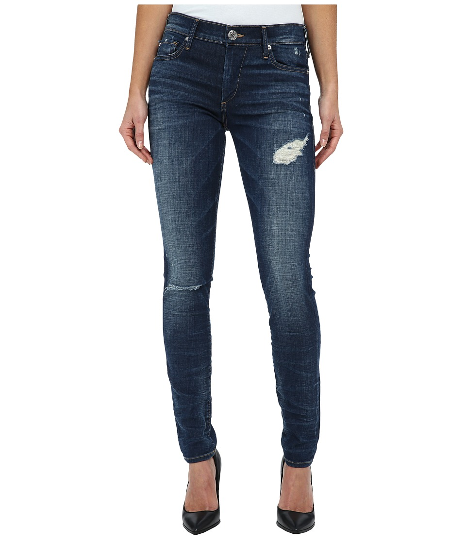 True Religion - Halle Super Skinny Jeans in Dark Authentic Indigo (Dark Authentic Indigo) Women's Jeans