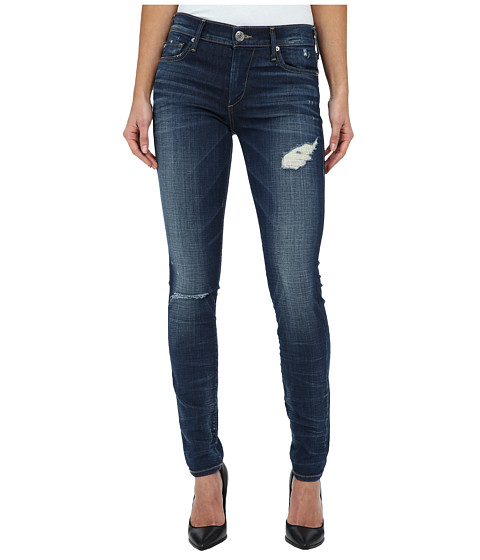 True Religion - Halle Super Skinny Jeans in Dark Authentic Indigo (Dark Authentic Indigo) Women