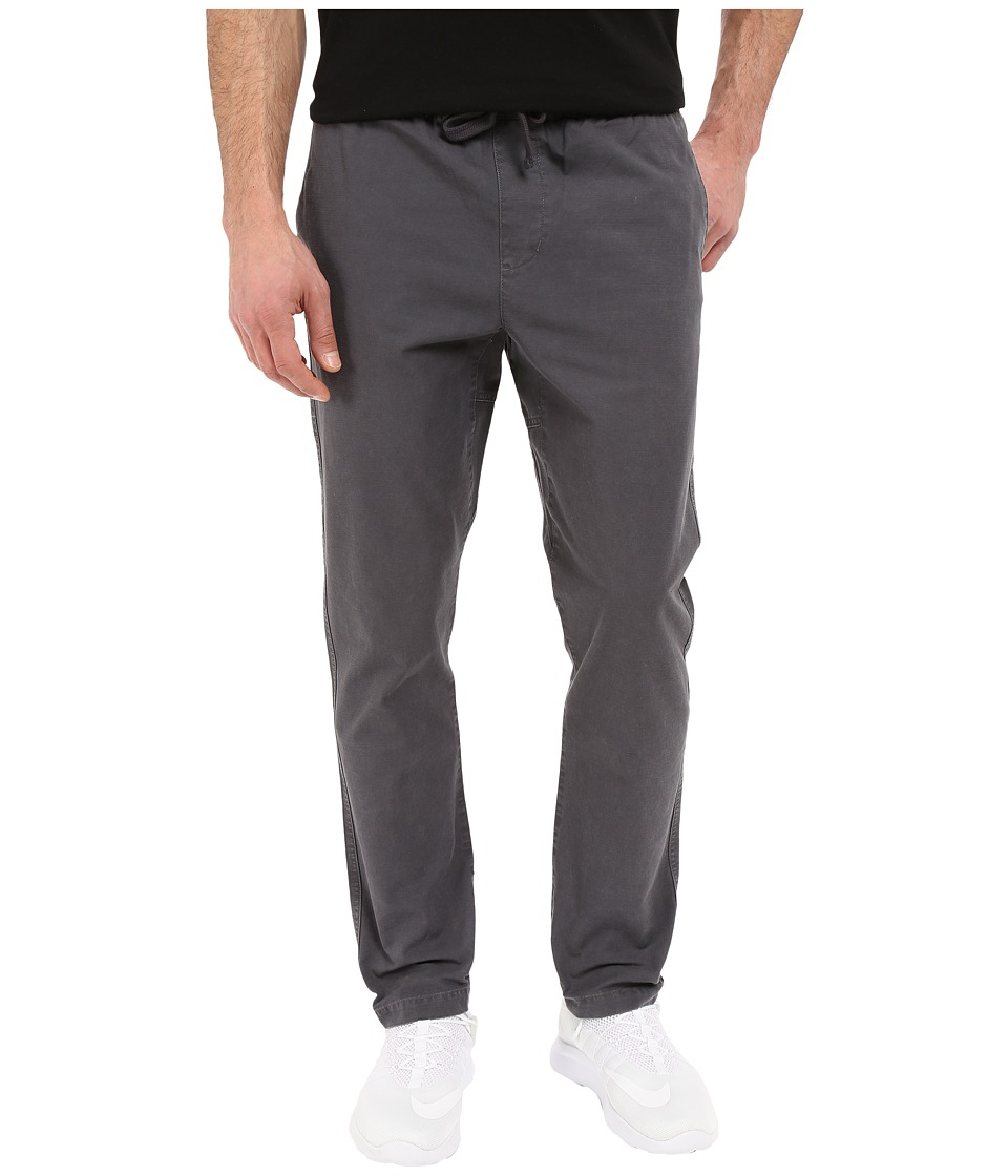 Obey - Travelers Slub Twill Pants (Asphalt) Men's Clothing