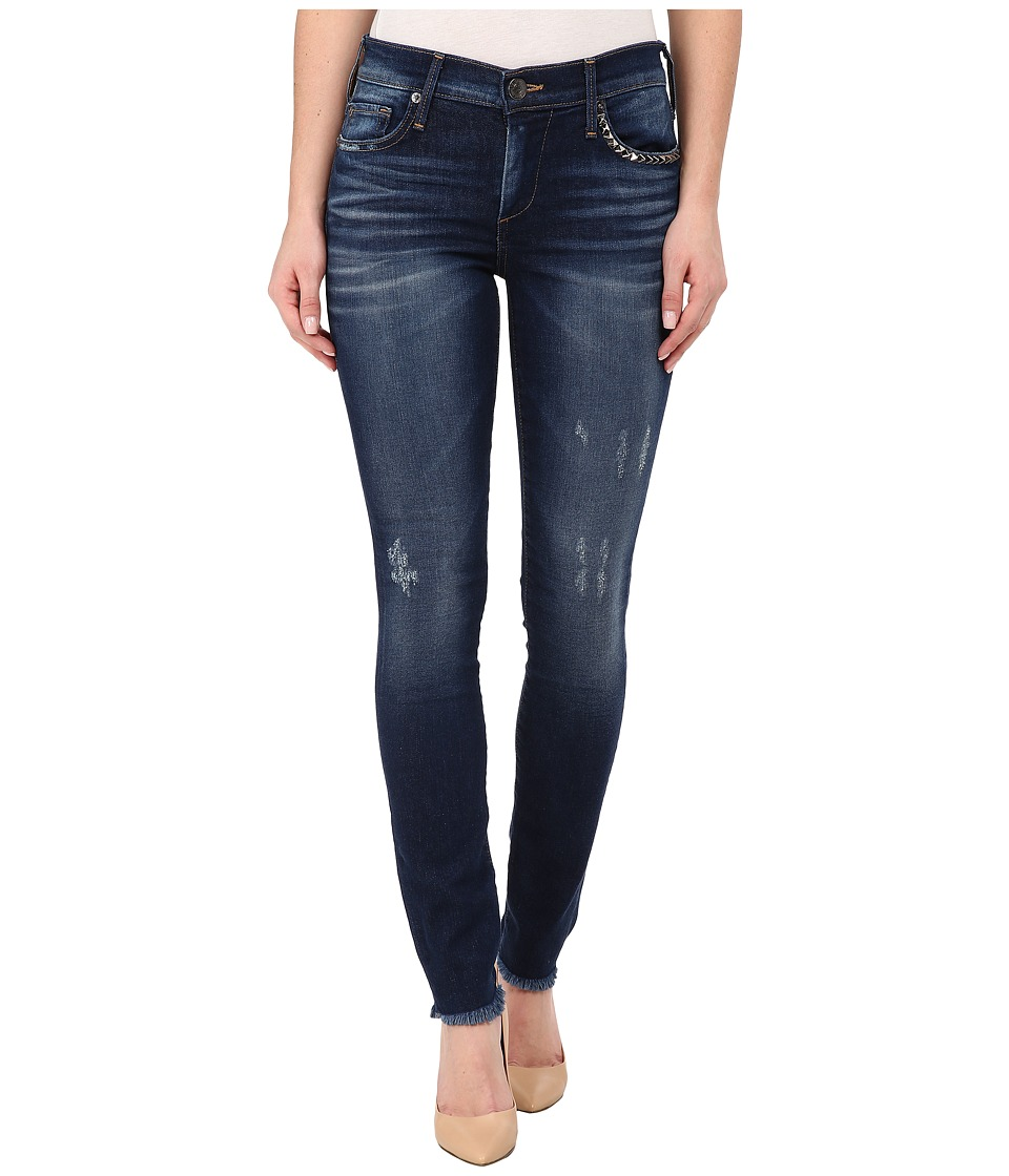 True Religion - Halle Skinny Jeans in Sterling Blue (Sterling Blue) Women's Jeans