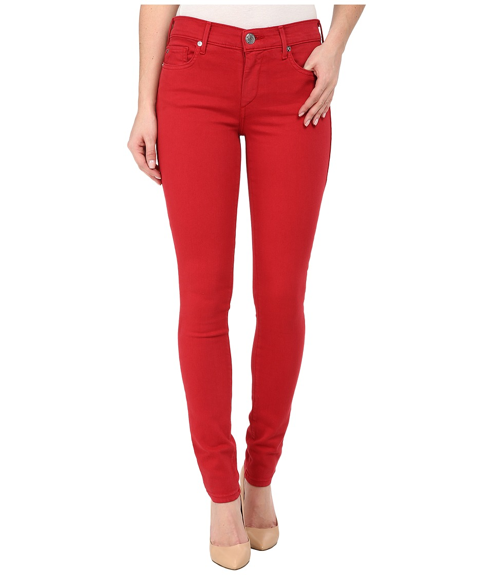 True Religion - Halle Skinny Jeans in Chili Pepper Red (Chili Pepper Red) Women's Jeans