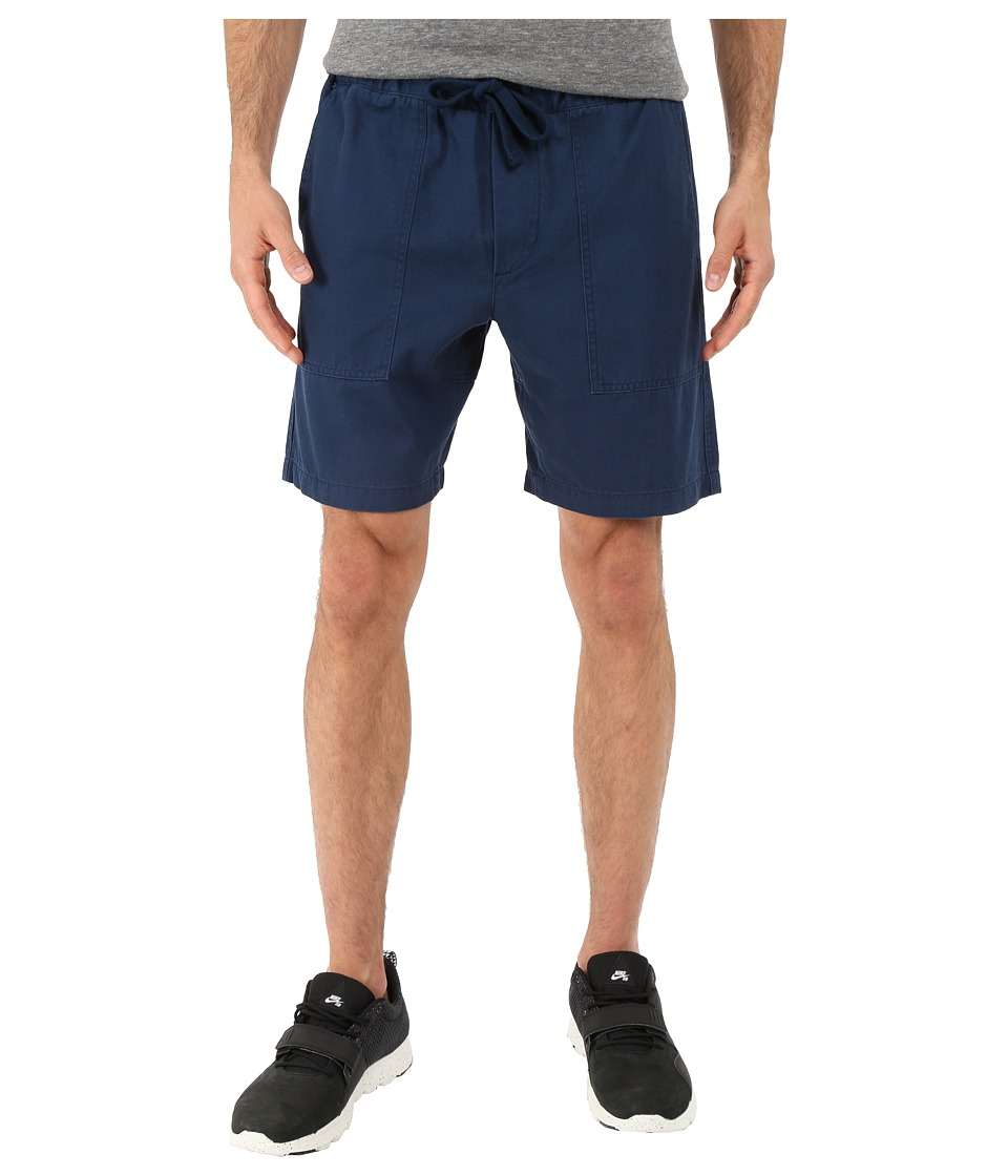 Obey - One-O Traveler Shorts (Mild Navy) Men's Shorts