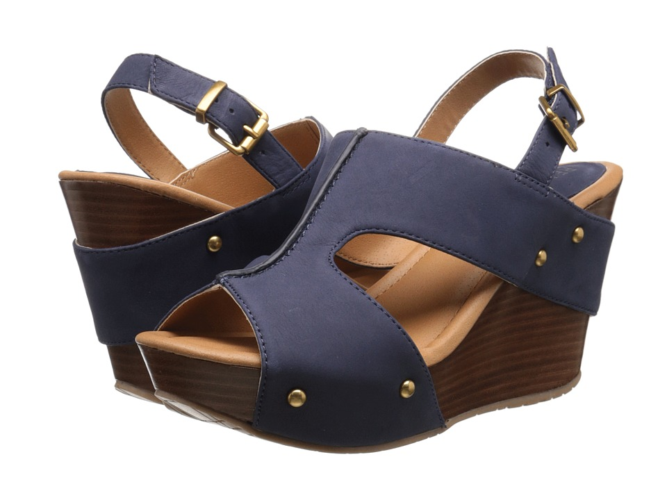Kenneth Cole Reaction - Sole-O (Deep Navy) Women's Wedge Shoes