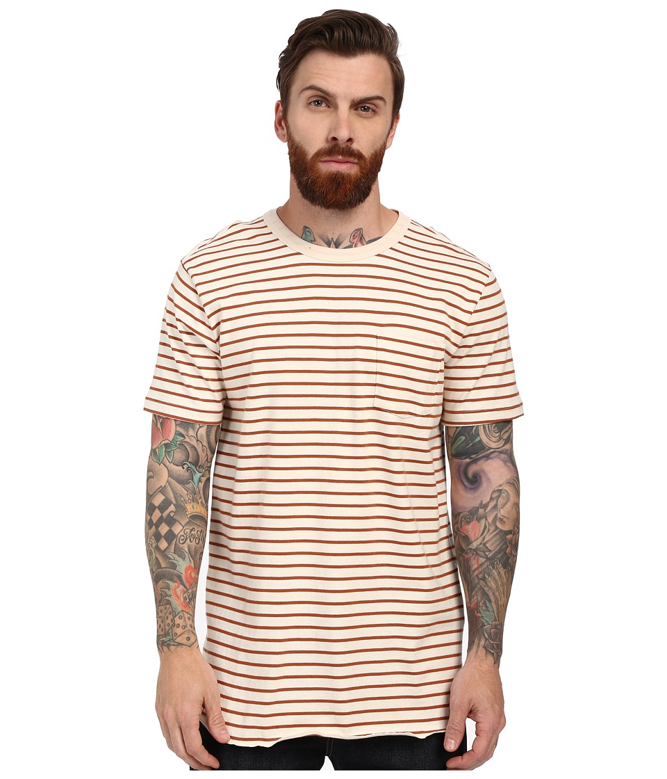 Obey Marseille Pocket Tee (Burnt Sienna Multi) Men