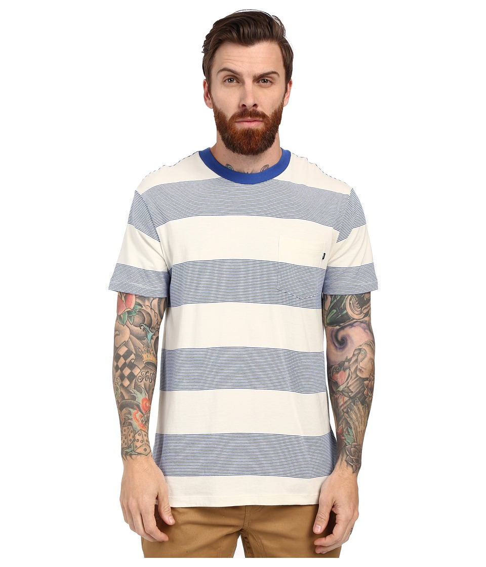 Obey - Wythe Pocket Tee (Blue Multi) Men