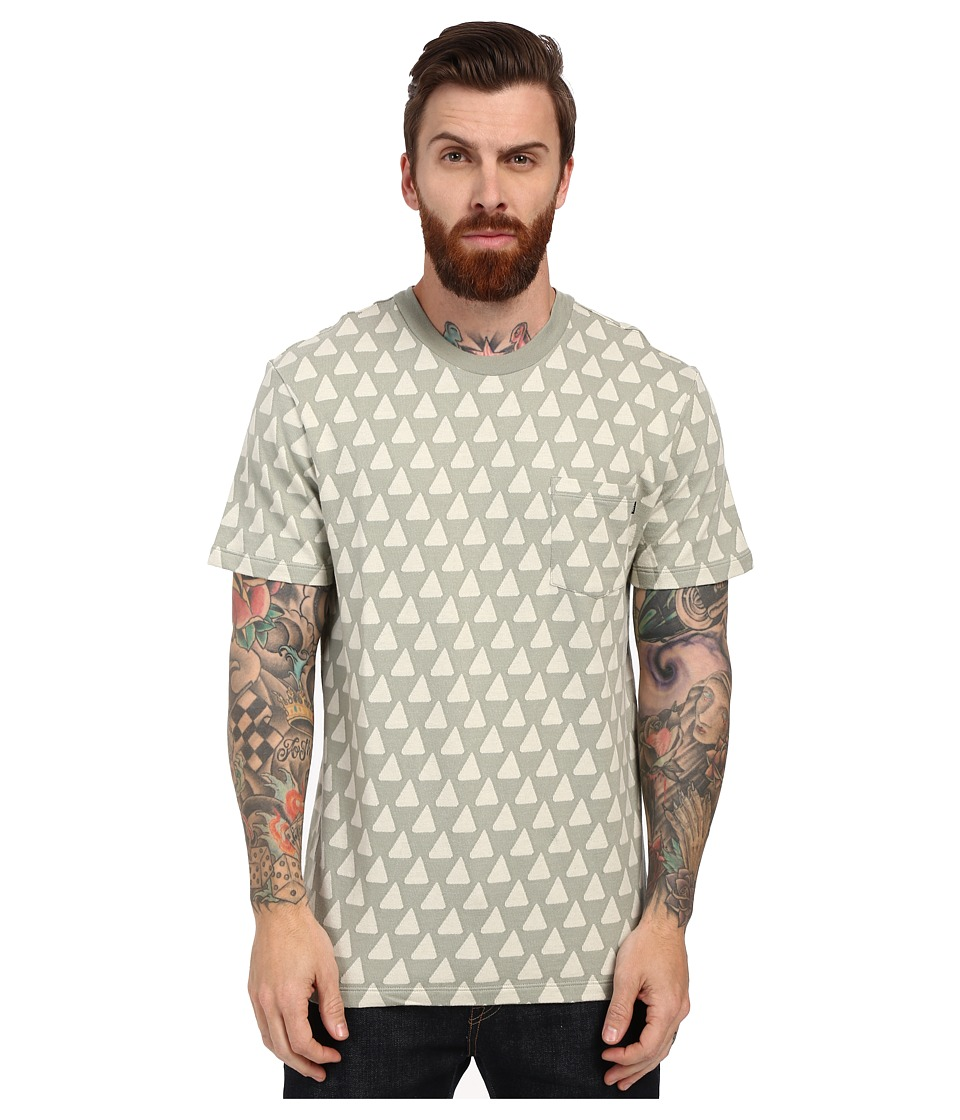 Obey - Gainey Pocket Tee (Seagrass Multi) Men
