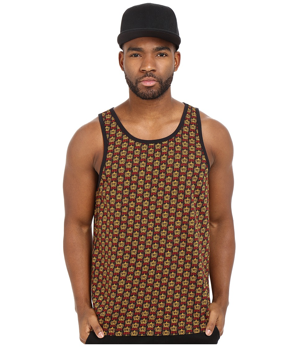 Obey - Crown Tank Top (Black Multi) Men's Sleeveless