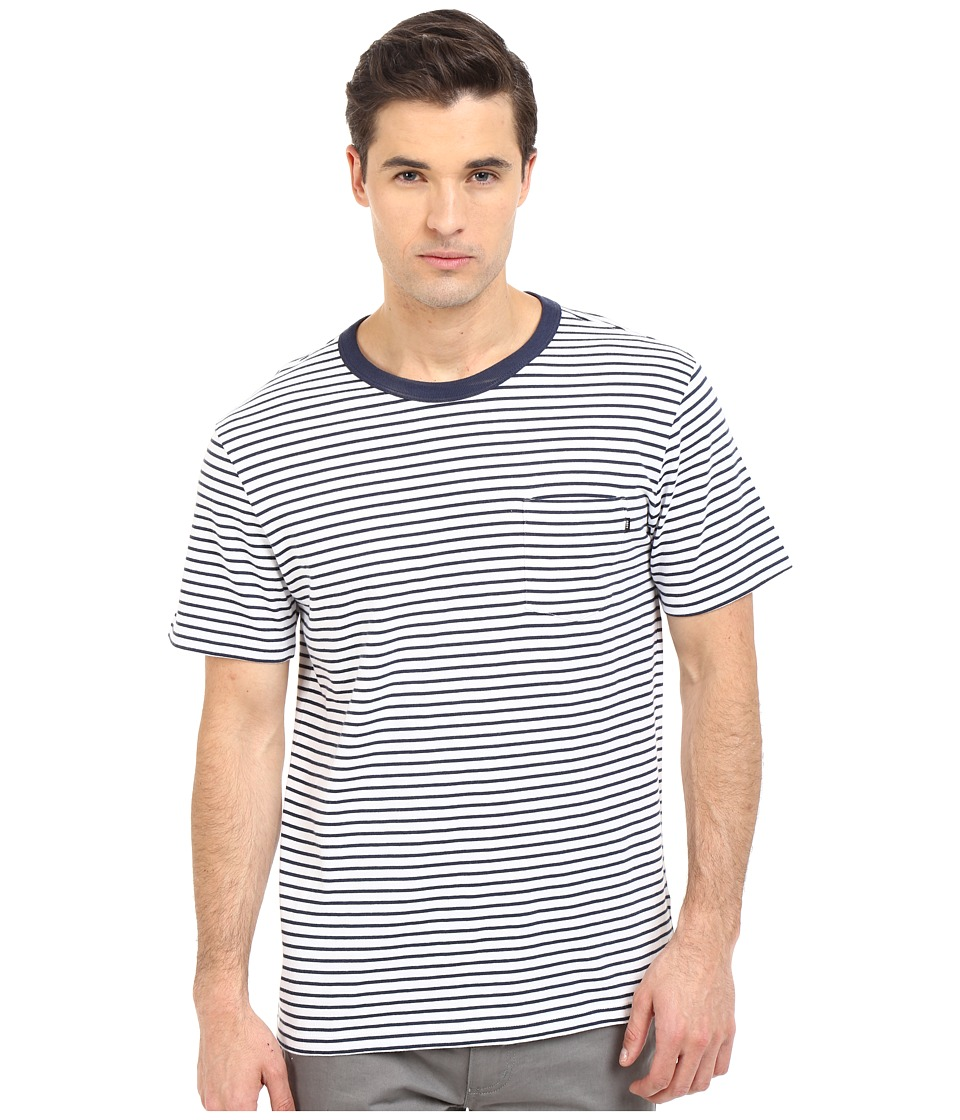 Obey - Richmond Pocket Tee (Navy Multi) Men's Short Sleeve Pullover