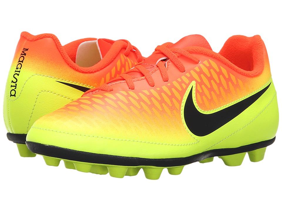 Nike Kids - Jr Magista Ola FG-R Soccer (Little Kid/Big Kid) (Total Crimson/Volt/Bright Citrus/Black) Kids Shoes
