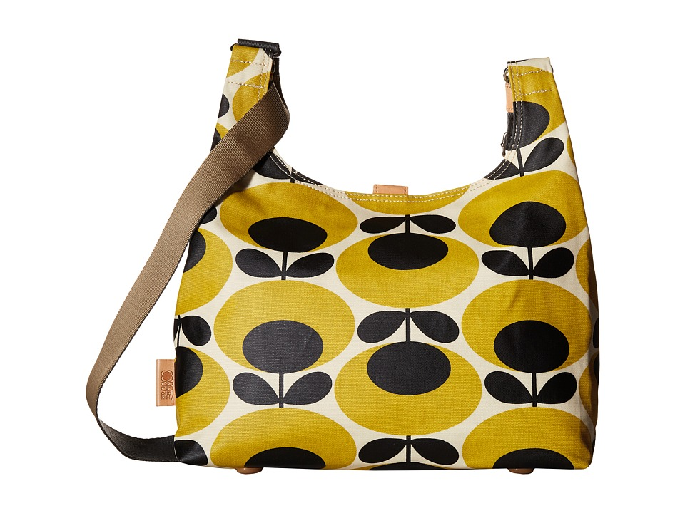 Orla Kiely - Midi Sling (Mustard) Cross Body Handbags