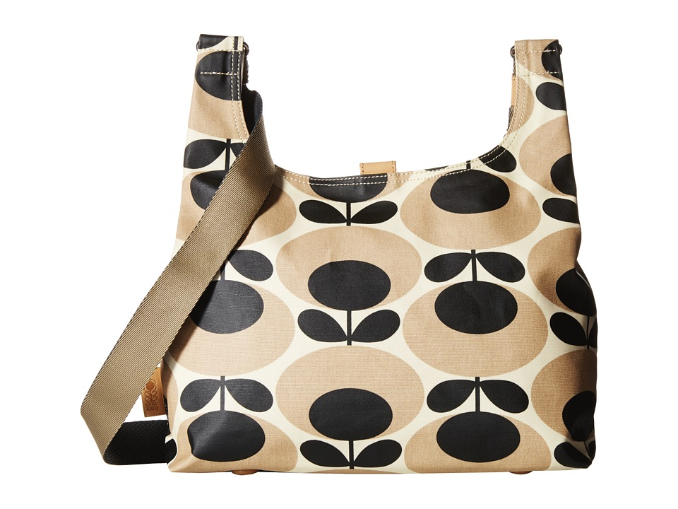 Orla Kiely - Midi Sling (Nude) Cross Body Handbags